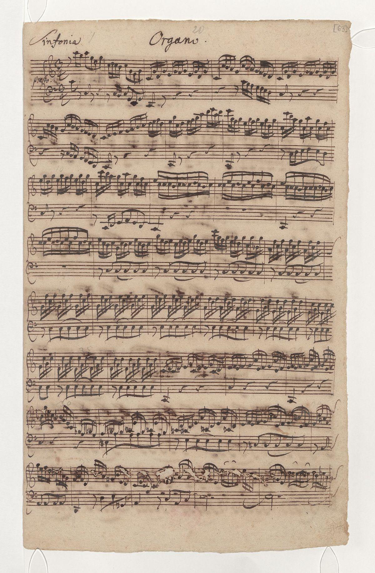 Wir danken dir, Gott, wir danken dir, BWV 29 - Wikipedia