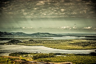 Wildlife reserve (Brazil) - Baía da Babitonga. A wildlife reserve was planned here, but abandoned.