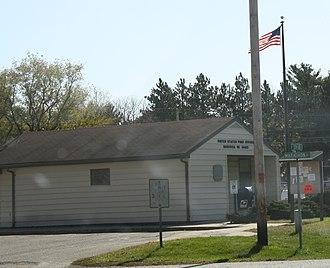 Babcock, Wisconsin - Image: Babcock Wisconsin Post Office WIS80WIS173