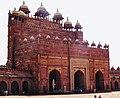Backside of Buland Darwaza in Agra,India.jpg