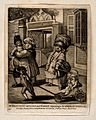 Bagnigge Wells, London; a family group, the Dumplings, on a Wellcome V0013669.jpg