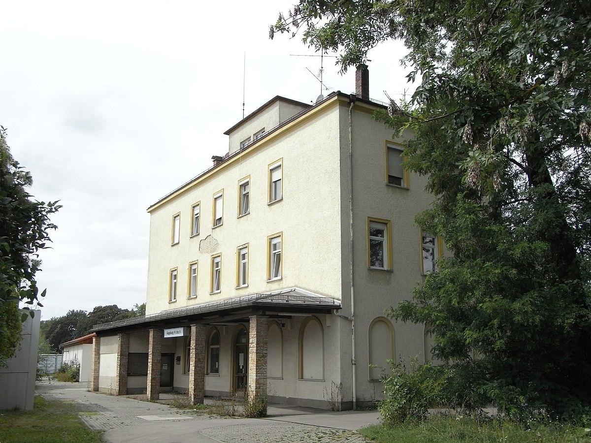 Bahnhof Augsburg Hochzoll Wikipedia