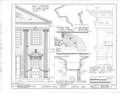 Baldwin-Buss House, Main Street and Streetsboro Road, Hudson, Summit County, OH HABS OHIO,77-HUD,1- (sheet 2 of 3).png