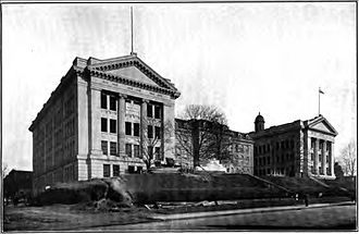 Baltimore Polytechnic Institute - Baltimore Polytechnic Institute on North Avenue