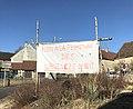 Banderole à Billy-sur-Oisy d'opposition à la fermeture des urgences de nuit.jpg
