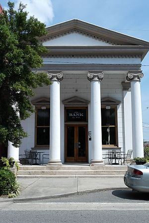 National Register of Historic Places listings in Beaufort County, North Carolina - Image: Bank of Washington, West End Branch