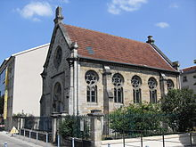 Photographie d'une synagogue.