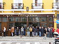 Bar in Seville, la Macarena.JPG