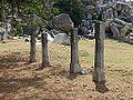 Barabar Caves - Columns (9227361900).jpg