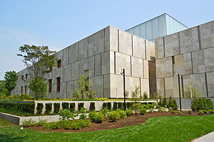 Barnes Foundation - The Barnes Foundation building on Franklin Parkway in Philadelphia, 2012