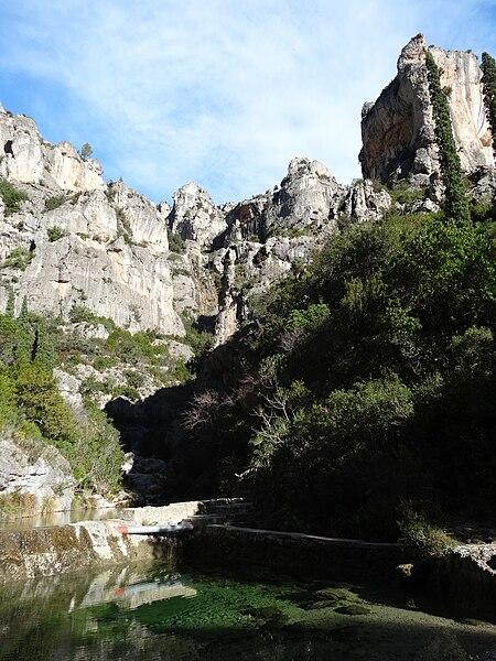 File:Barranc de la Caramella, Els Ports (desembre 2012) - panoramio.jpg
