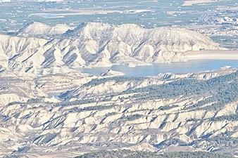 Barrancos de Gebas desde Sierra Espuña.jpg