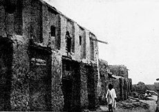 Heinrich Barth's house in Timbuktu (in summer 1908 before its collapse)