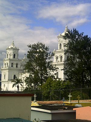 Cristos Negros of Central America and Mexico - Basilica of the Cristo Negro of Esquipulas in Guatemala