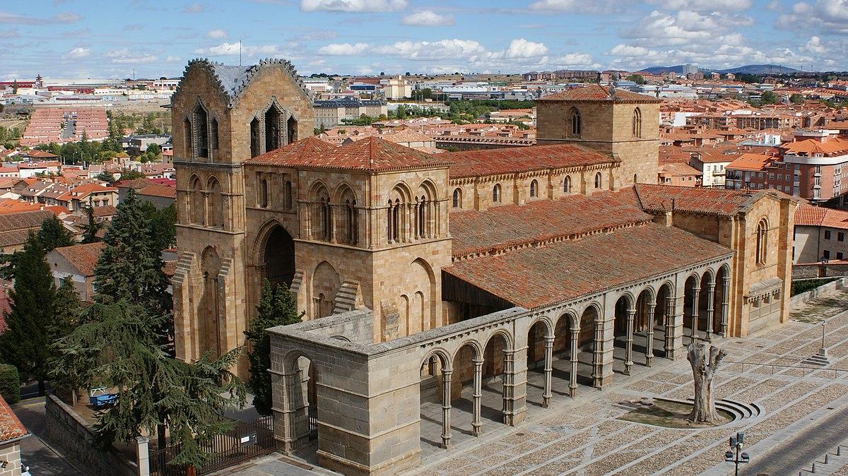 File Basílica De San Vicente ávila 01 Jpg Wikimedia Commons