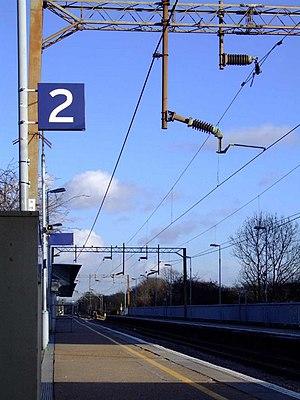 Basildon railway station - Image: Basildon railway station 1