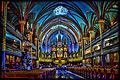 Basilique Notre-Dame de Montréal - Notre-Dame of Montreal Basilica. ( Montreal- Quebec-Canada).jpg