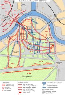 schlacht um berlin karte Schlacht um Berlin – Wikipedia schlacht um berlin karte