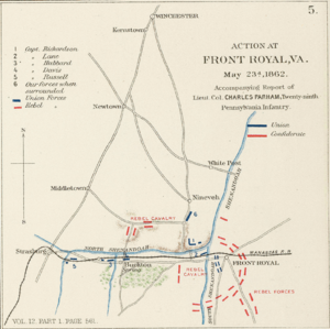 "Battle of Front Royal - ""Action at Front Royal, Va."""