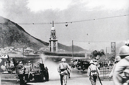 Japanese troops in Tsim Sha Tsui Battle of HK 03.jpg
