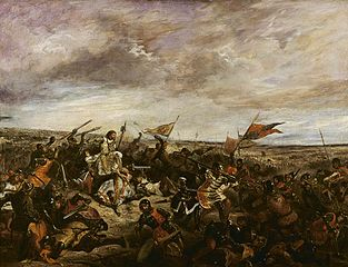(King John at the) Battle of Poitiers