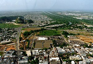 Aerial view of Bayamón