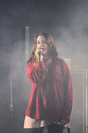 Marmozets - Becca Macintyre at Freeze Festival, 2011
