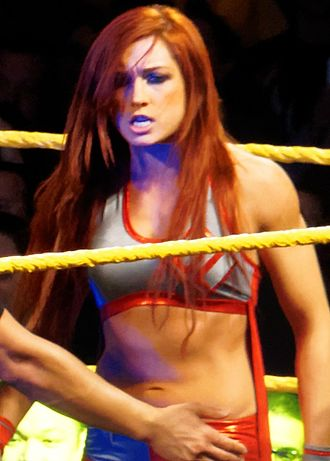 Becky Lynch - Lynch during an NXT house show in March 2015