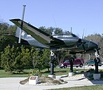 Beech RU-8D Seminole, NSA National Vigilance Park, Maryland.jpg