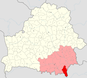 Brahin District - Image: Belarus, Homieĺskaja voblasć, Brahinski rajon