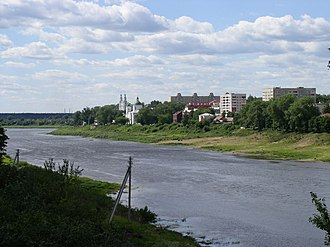 Siege of Polotsk - Daugava (Dvina) River near Polotsk