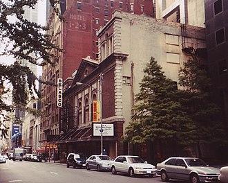 Belasco Theatre - Belasco Theatre c. 2002