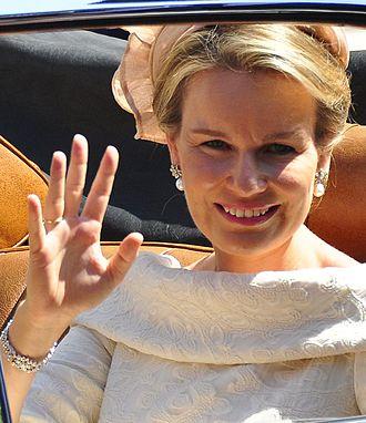 Queen Mathilde of Belgium - Queen Mathilde in 2013