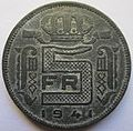 Belgium 5 francs 1941 reverse.jpg