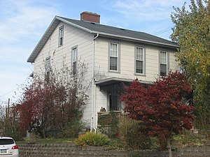 National Register of Historic Places listings in Highland County, Ohio - Image: Bell's First Home from the southwest
