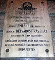 Belváros Kávéház emléktáblája Ferenciek tere 1.jpg