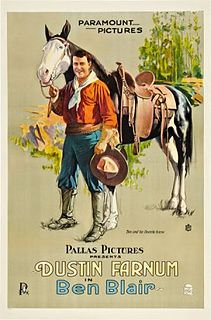 <i>Ben Blair</i> (film) 1916 film by William Desmond Taylor