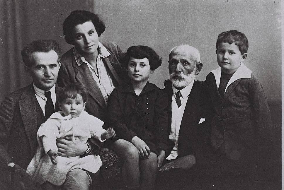Ben Gurion Family 1929