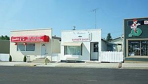 Bentley, Alberta - Shops in Bentley