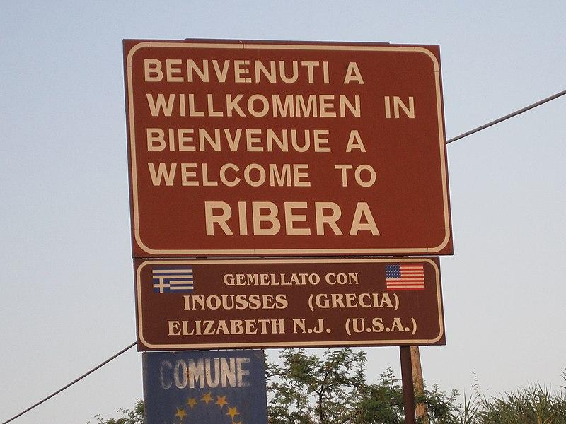 File:Benvenuti a Ribera.JPG