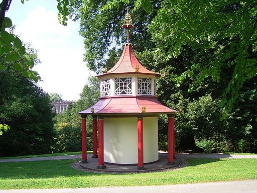 Bergpark wilhelmshoehe mou-lang pavillon 1