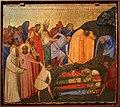 Bernardo daddi, storie di santo stefano, 1337-38 (musei vaticani) 04 ritrovam. dei corpi di s. stefano coi compagni.jpg