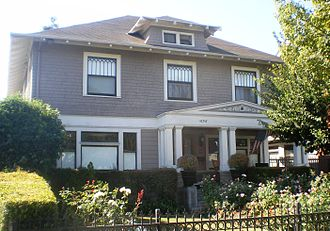 Samuel Tilden Norton - Bernays House at 1656 W. 25 St. South Los Angeles