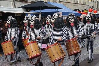 Carnival in Bern - Image: Berner Fasnacht 2010 057