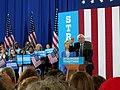 Bernie Sanders endorsing Hillary Clinton (28165481772).jpg