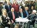 Bertrand Delanoë and YonaYahav in The inauguration ceremony renovation Paris Square in Haifa 2.jpg