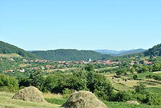 Berzasca - Image: Berzasca, view of the village