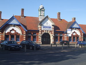 Bexhill West railway station - Image: Bexhill West Station 1