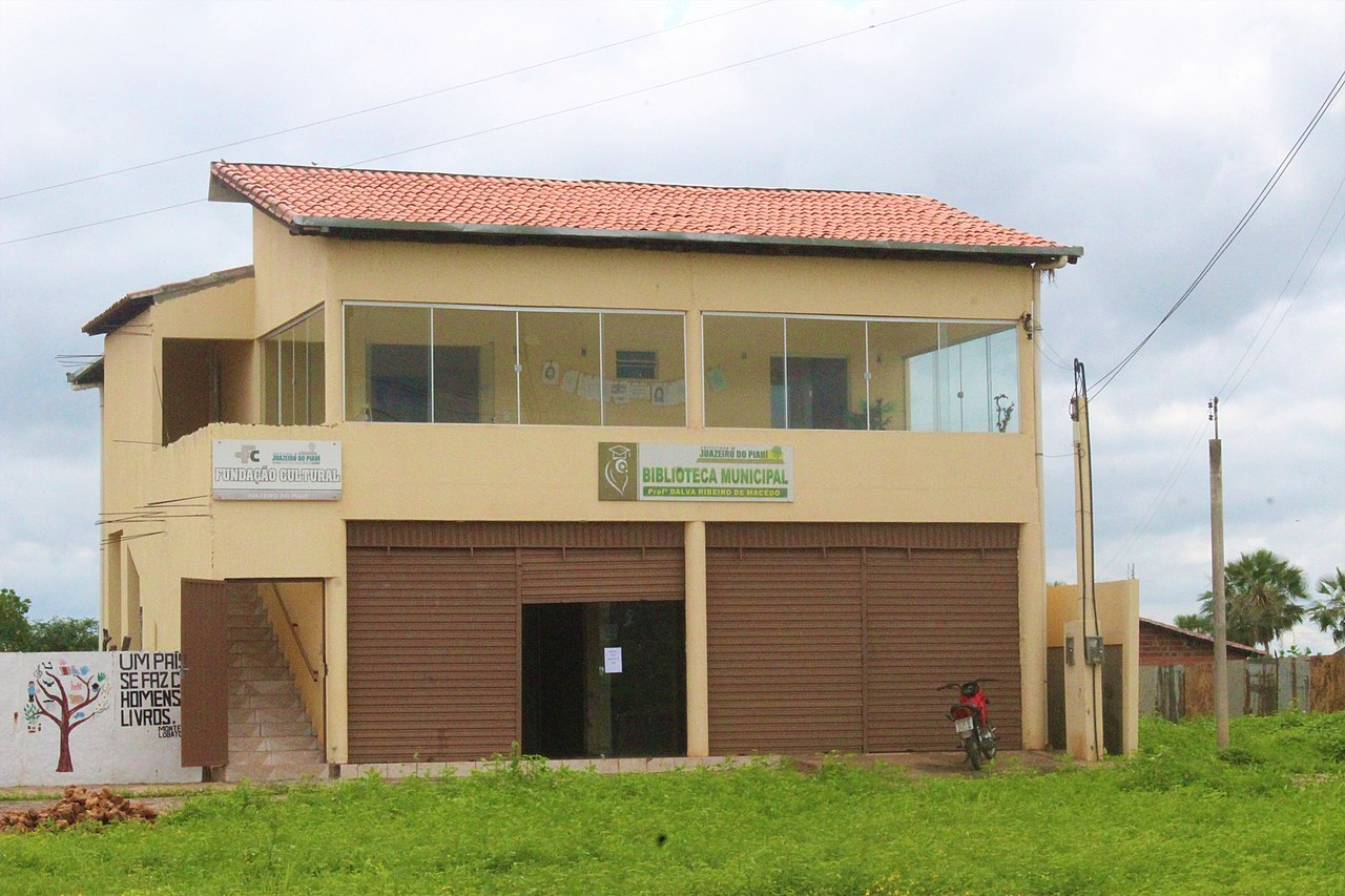 Ficheiro:Biblioteca Municipal de Juazeiro do Piauí.jpg – Wikipédia, a  enciclopédia livre