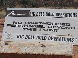 Big Bell Gold Mine mine in Australia